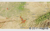 Satellite 3D Map of Miquan