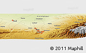 Physical Panoramic Map of Ulanbay Gucheng