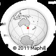 Outline Map of Franklin, rectangular outline