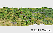 Satellite Panoramic Map of Batinica