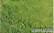 Satellite Map of Valjevo