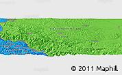 Political Panoramic Map of Bastahovine