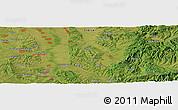 "Satellite Panoramic Map of the area around 44°19'14""N,21°19'30""E"