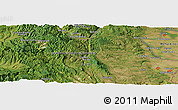 "Satellite Panoramic Map of the area around 44° 19' 14"" N, 22° 10' 29"" E"