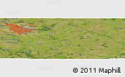 Satellite Panoramic Map of Vatra Mînăstirii Cotroceni