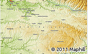 """Physical Map of the area around 44°19'14""""N,2°37'30""""E"""