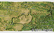 """Satellite 3D Map of the area around 44°19'14""""N,3°28'30""""E"""