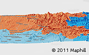"""Political Panoramic Map of the area around 44°19'14""""N,5°10'30""""E"""
