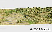 "Satellite Panoramic Map of the area around 44°19'14""N,5°10'30""E"
