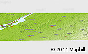 Physical Panoramic Map of Brier Hill