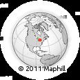 Outline Map of Port Elgin, rectangular outline