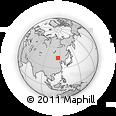 Outline Map of Ganjur Sum, rectangular outline
