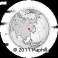 Outline Map of Qog Ul, rectangular outline