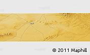 Physical Panoramic Map of Qog Ul