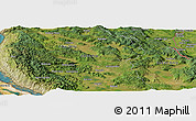 Satellite Panoramic Map of Antinovica