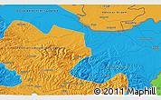 Political 3D Map of Bijeljina