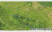 Satellite 3D Map of Bijeljina
