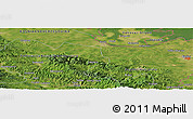 Satellite Panoramic Map of Aćimovići