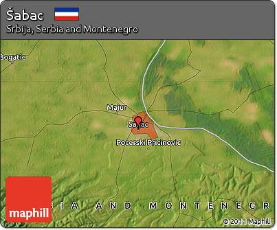 Sabac satellite maps
