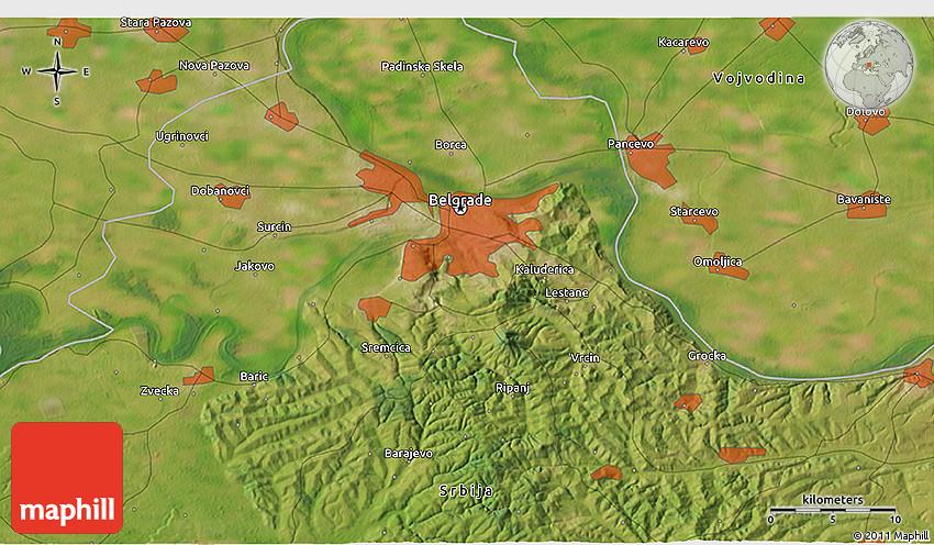 3d beograd mapa Belgrade map 3d beograd mapa