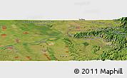 Satellite Panoramic Map of Smederevo