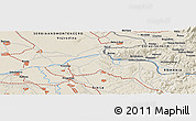 Shaded Relief Panoramic Map of Smederevo