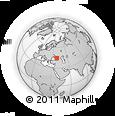 Outline Map of Adygeysk, rectangular outline