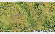 """Satellite 3D Map of the area around 44°44'51""""N,3°28'30""""E"""