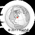 Outline Map of 3396 Aylesford Rd, rectangular outline