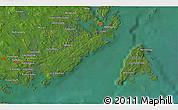 Satellite 3D Map of Seal Cove
