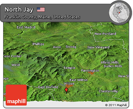 Free Satellite Panoramic Map Of North Jay