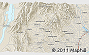 """Shaded Relief 3D Map of the area around 44°2'4""""S,170°55'30""""E"""