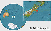 "Satellite Location Map of the area around 44°2'4""S,173°28'29""E"