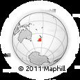 "Outline Map of the Area around 44° 2' 4"" S, 173° 28' 29"" E, rectangular outline"