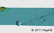 "Satellite Panoramic Map of the area around 44°2'4""S,173°28'29""E"