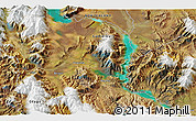 """Satellite 3D Map of the area around 44°27'46""""S,170°4'29""""E"""