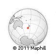 Outline Map of Makikihi, rectangular outline