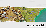 "Satellite Panoramic Map of the area around 44°27'46""S,170°55'30""E"