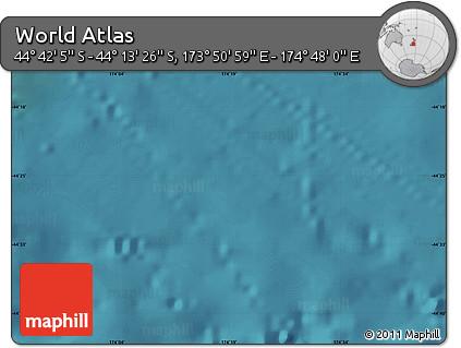 "Satellite Map of the Area around 44°27'46""S,174°19'29""E"