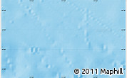 """Shaded Relief Map of the area around 44°27'46""""S,174°19'29""""E"""