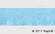 """Shaded Relief Panoramic Map of the area around 44°27'46""""S,174°19'29""""E"""