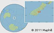Savanna Style Location Map of Richmond