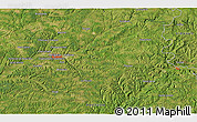 """Satellite 3D Map of the area around 45°10'22""""N,0°55'29""""E"""