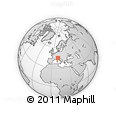 Outline Map of Maccastorna, rectangular outline