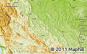 Physical Map of Kalanj