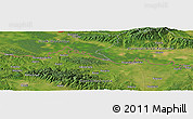 Satellite Panoramic Map of Knežica