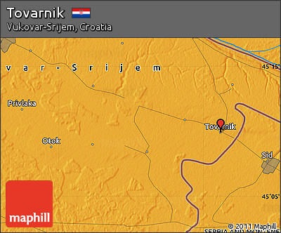 Political Map of Tovarnik