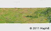 "Satellite Panoramic Map of the area around 45°10'22""N,21°19'30""E"