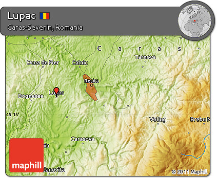 Physical Map of Lupac