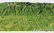 Satellite 3D Map of Băluţoaia